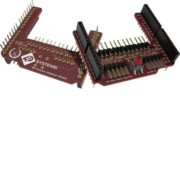 Shield e moduli aggiuntivi HAT per Arduino - 4D Systems 4D Arduino Adaptor Shield II -