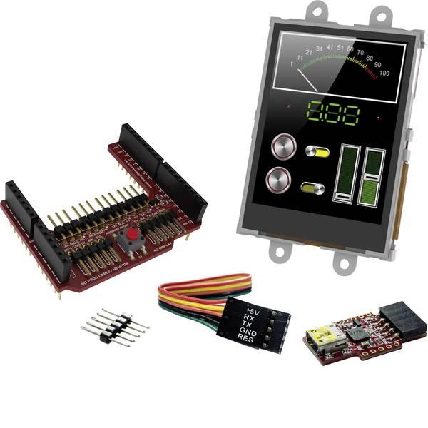 Kit e schede microcontroller MCU - 4D Systems Scheda di sviluppo SK-24PTU-AR -
