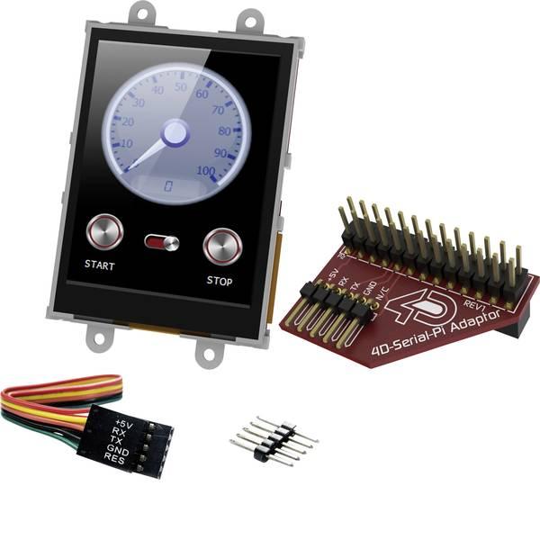 Kit e schede microcontroller MCU - 4D Systems Scheda di sviluppo uLCD-28PTU-Pi -