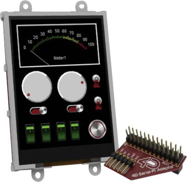 Kit e schede microcontroller MCU - 4D Systems Scheda di sviluppo uLCD-32PTU-Pi -