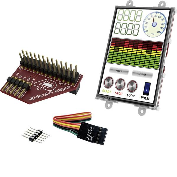 Kit e schede microcontroller MCU - 4D Systems Scheda di sviluppo uLCD-35DT-Pi -