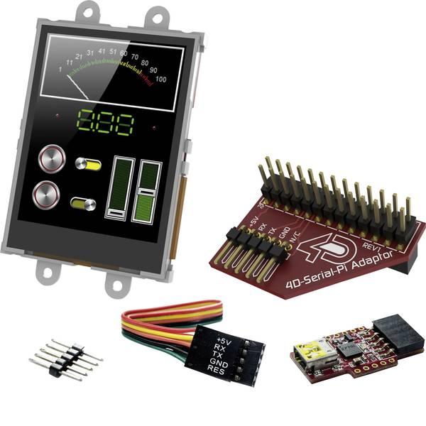 Kit e schede microcontroller MCU - 4D Systems Scheda di sviluppo SK-24PTU-Pi -