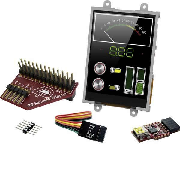 Kit e schede microcontroller MCU - 4D Systems Scheda di sviluppo SK-32PTU-Pi -
