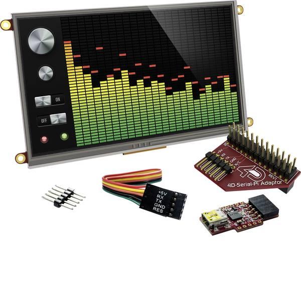 Kit e schede microcontroller MCU - 4D Systems Scheda di sviluppo SK-70DT-Pi -