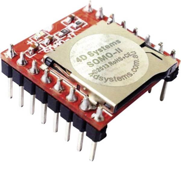 Kit e schede microcontroller MCU - 4D Systems Scheda di sviluppo SOMO-II -