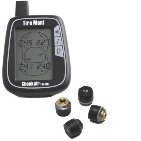 Sistemi di controllo pressione pneumatici - TireMoni TM-100 Sistema di monitoraggio della pressione dei pneumatici incl. 4 sensori -