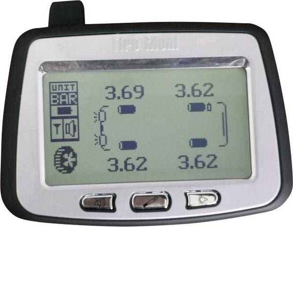 Sistemi di controllo pressione pneumatici - TireMoni TM-260 Sistema di monitoraggio della pressione dei pneumatici incl. 6 sensori -