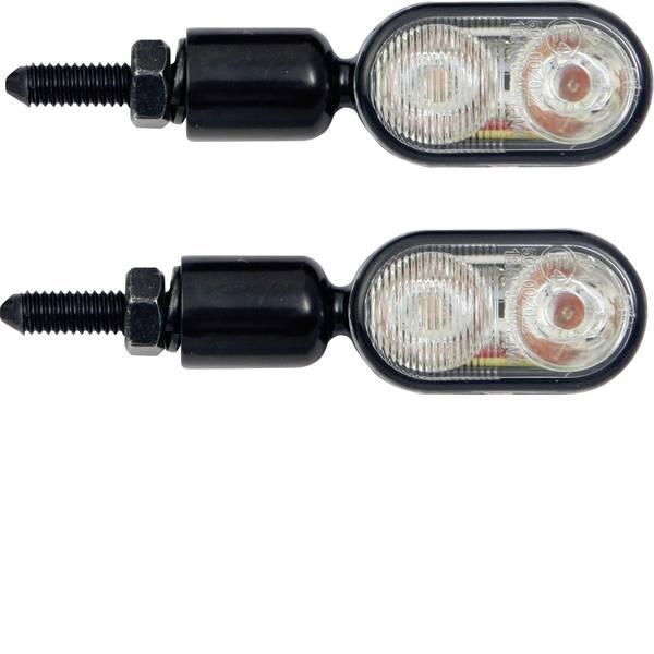 Luci per moto - Indicatore LED con luce posteriore Moto Devil Eyes 611001 Alluminio -