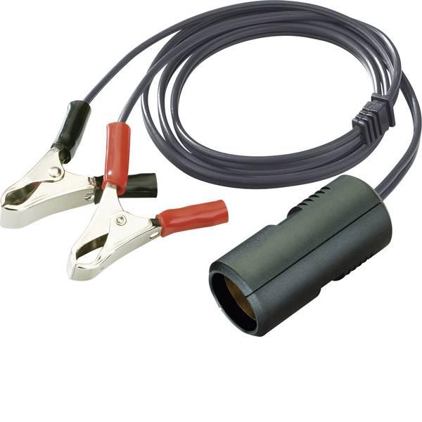 Accessori per presa accendisigari - ProCar Cavo connettore 8A morsetti a coccodrillo Portata massima corrente=8 A Adatto per Accendisigari -