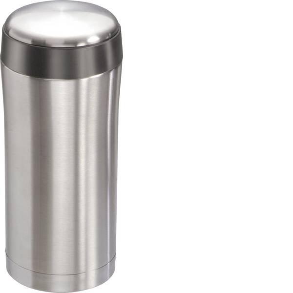Thermos e tazze termiche - MATO Tazza termica Acciaio inox (spazzolato), Nero 0.3 l 4176 -