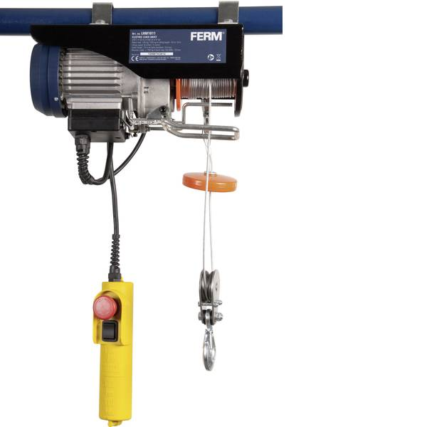 Paranchi - Ferm LHM1011 Paranco elettrico capacità di carico: 125 kg -