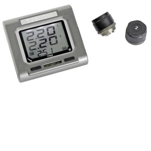 Sistemi di controllo pressione pneumatici - TireMoni TM-4100 Sistema di monitoraggio della pressione dei pneumatici incl. 2 sensori -