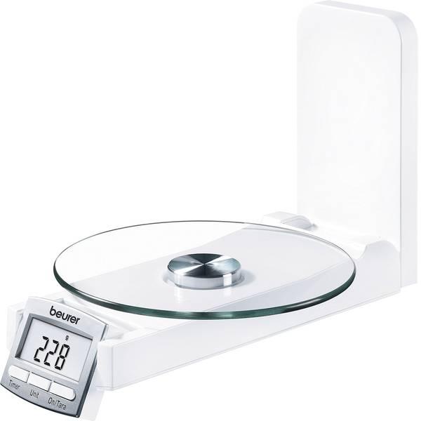 Bilance da cucina - Beurer KS 52 Bilancia da cucina digitale, con fissaggio a parete Portata max.=5 kg Bianco -