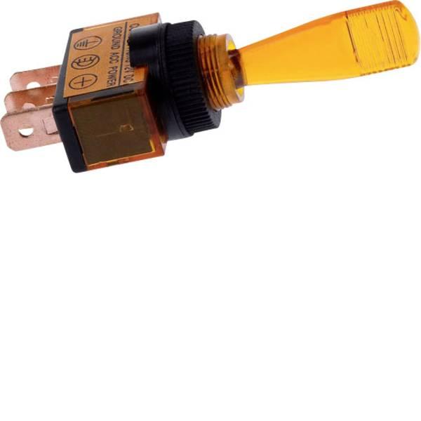 Interruttori per auto - HP Autozubehör Interruttore a leva per auto 12 V 16 A 1 x Off / On Permanente 1 pz. -