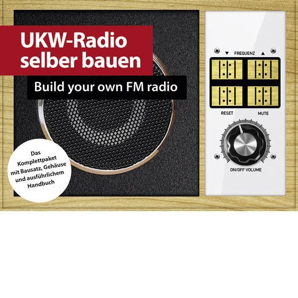 Kit esperimenti e pacchetti di apprendimento - Radio Retrò Franzis Verlag UKW-Retroradio selber bauen 65261 da 14 anni -