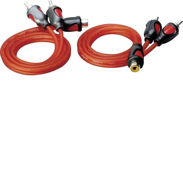 Cavi e connettori RCA HiFi per auto - Cavo RCA a Y 0.50 m Sinuslive YK-2 [1x Presa RCA - 2x Spina RCA] -