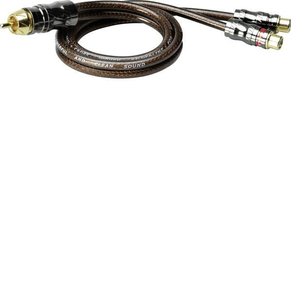 Cavi e connettori RCA HiFi per auto - Cavo RCA a Y 0.50 m Sinuslive YX-1 [1x Spina RCA - 2x Presa RCA] -