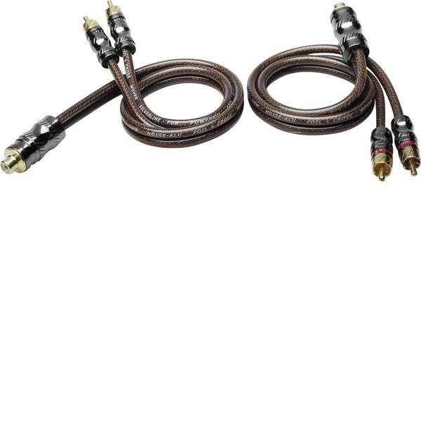 Cavi e connettori RCA HiFi per auto - Cavo RCA a Y 0.50 m Sinuslive YX-2 [1x Presa RCA - 2x Spina RCA] -