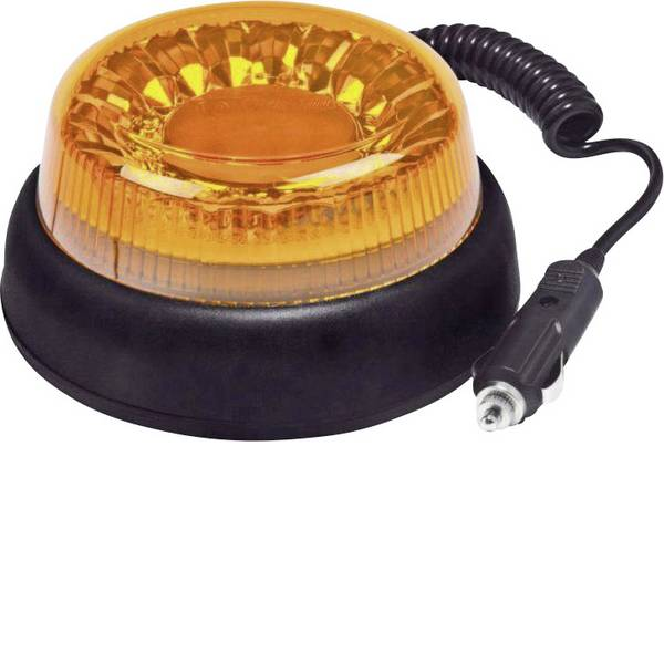 Lampeggianti e luci di segnalazione - Fristom Luce a tutto tondo FT-100 LED MAG M78 95111 12 V, 24 V, 40 V via rete a bordo Magnetico Arancione -