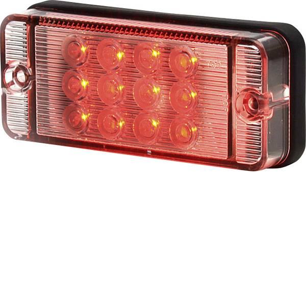Illuminazione per rimorchi - SecoRüt LED alta potenza Faro antinebbia posteriore Retronebbia posteriore 12 V, 24 V Rosso Vetro trasparente -