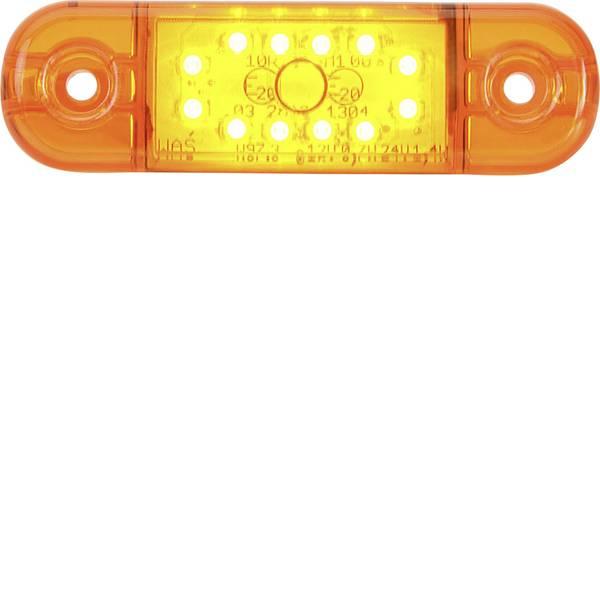 Illuminazione per rimorchi - SecoRüt LED alta potenza Luce di ingombro Luce di segnalazione laterale 12 V, 24 V Arancione Vetro trasparente -