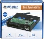 Lettore di schede multiplo USB 3.0 da incasso da 3,5