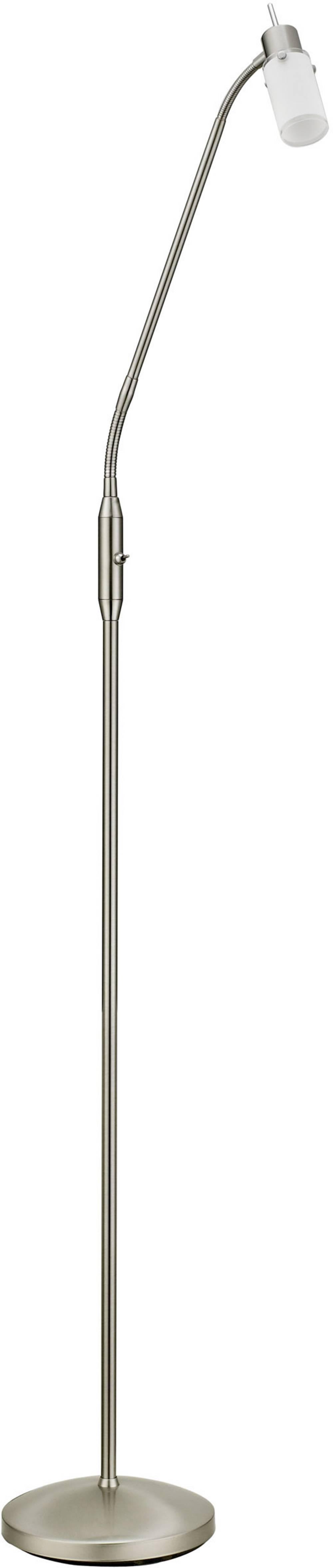 lampada a stelo led gu10 4 w leuchtendirekt max 11938-55 acciaio in