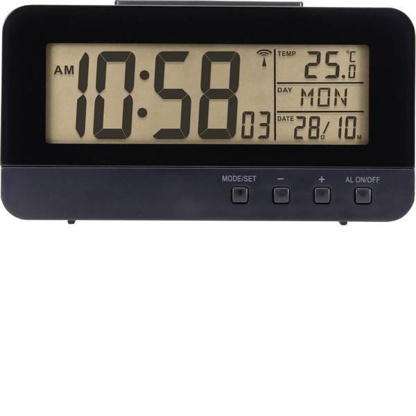 Sveglie - Renkforce KW-9281 Radiocontrollato Sveglia Nero Tempi di allarme 1 -
