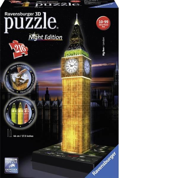 Puzzle - Ravensburger Puzzle 3D Big Ben di notte -