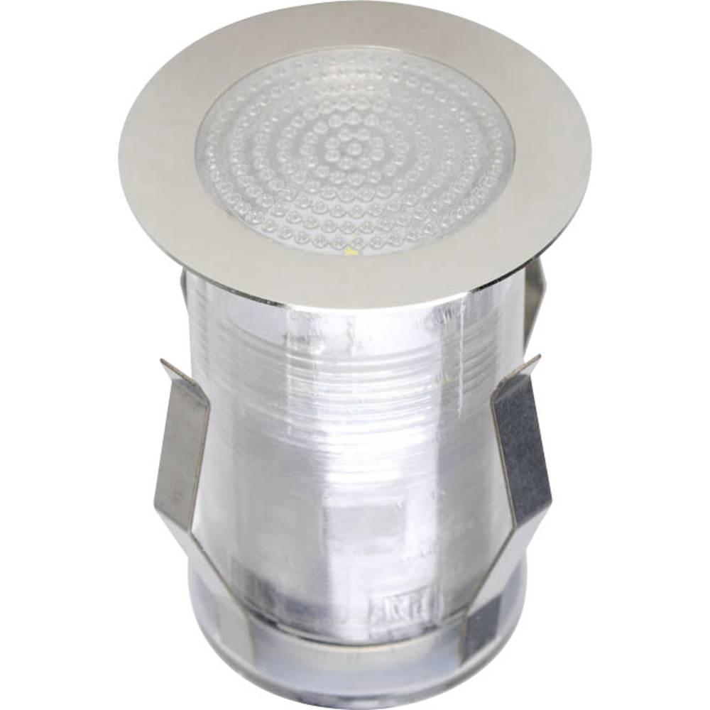 Lampade da incasso per esterno a led 1 5 w bianco freddo for Lampade led incasso