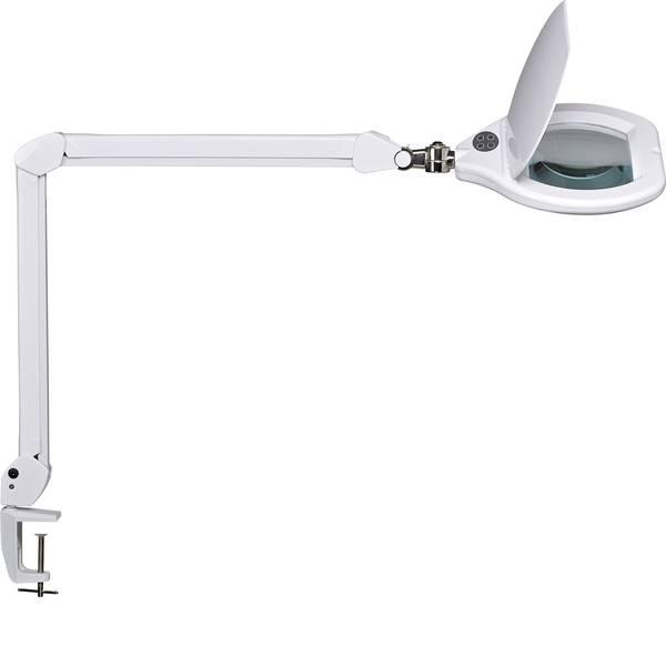 Lampade tecniche e lenti da laboratorio - Maul 8266002 Lente dingrandimento a LED con piedino di fissaggio MAUL Crystal -