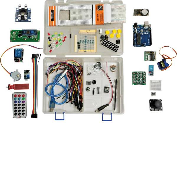 Kit e schede microcontroller MCU - Allnet Starter kit Starter Kit UNO R.3 SET ATMega328 Adatto per (scheda): Arduino -