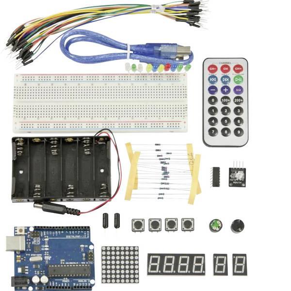 Kit e schede microcontroller MCU - Allnet Starter Kit Starter Kit LIGHT UNO R.3 ATMega328 -