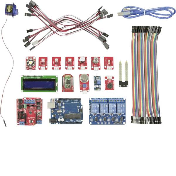 Kit e schede microcontroller MCU - Allnet Starter kit Smart Home Kit UNO R.3 ATMega328 -