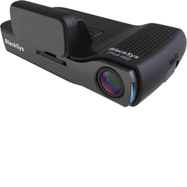 Dashcam - BlackSys CH-100B Dashcam con GPS Max. angolo di visuale orizzontale=135 ° 12 V, 24 V Dual camera, Batteria ricaricabile,  -