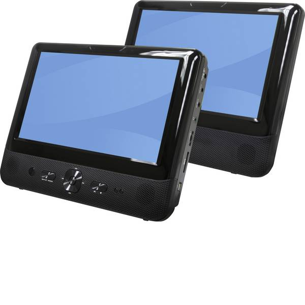 Sistemi DVD per poggiatesta auto - Denver MTW 984 Lettore DVD Diagonale schermo=22.86 cm (9 pollici) -