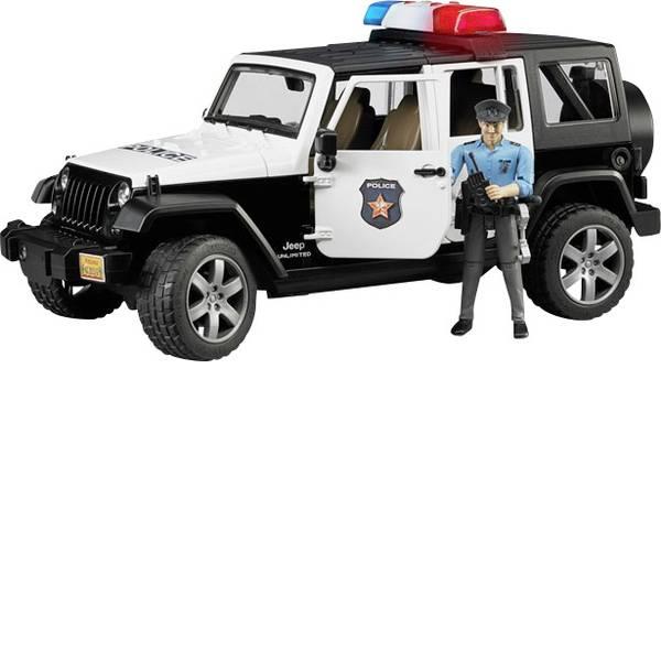 Veicoli senza telecomando - Bruder Jeep Wrangler Unlimited Rubicon Polizei -