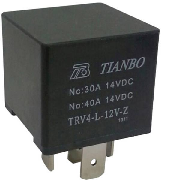 Relè auto - Tianbo Electronics TRV4 L-12V-Z Relè per auto 12 V/DC 1 scambio -