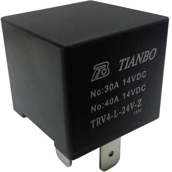 Relè auto - Tianbo Electronics TRV4 L-24V-Z Relè per auto 24 V/DC 1 scambio -