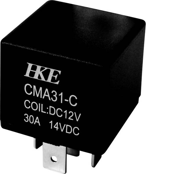 Relè auto - HKE CMA31-DC12V-C-NS Relè per auto 12 V/DC 30 A 1 scambio -