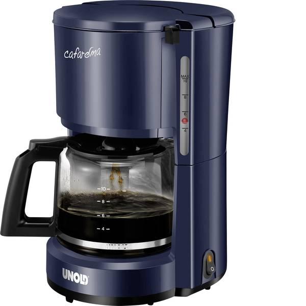 Macchine dal caffè con filtro - Unold Compact Macchina per il caffè Blu Capacità tazze=10 Funzione mantenimento calore -