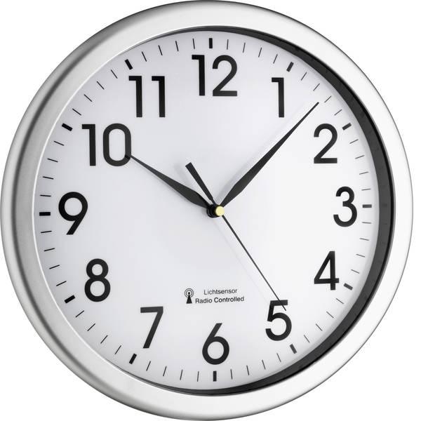 Orologi da parete - TFA 60.3519.02 Radiocontrollato Orologio da parete 30.8 cm x 4.3 cm Argento -