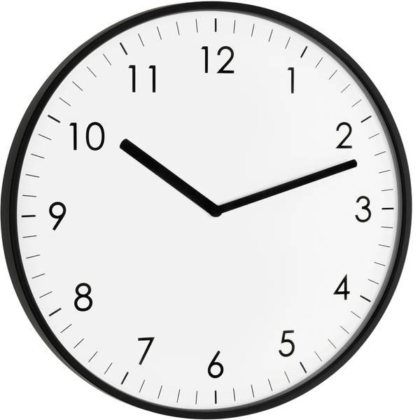 Orologi da parete - TFA 60.3026.01 Quarzo Orologio da parete 25.5 cm x 1.5 cm Nero -