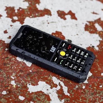 CAT B30 Cellulare outdoor, GSM e UMTS, certificazione IP-67 Nero