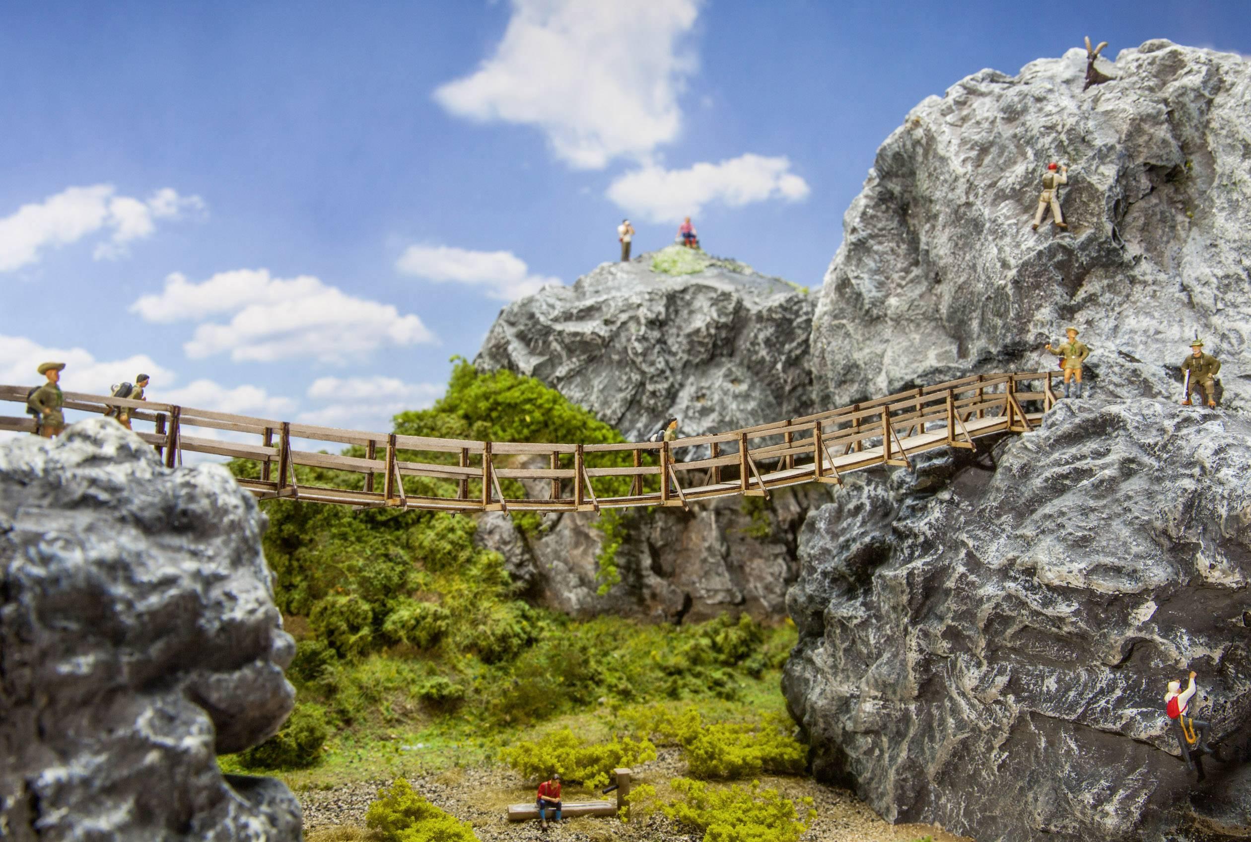 Ponte sospeso Faller 180391 H0