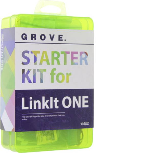 Kit e schede microcontroller MCU - Seeed Studio Starter Kit Grove Starter Kit for LinkIt ONE -