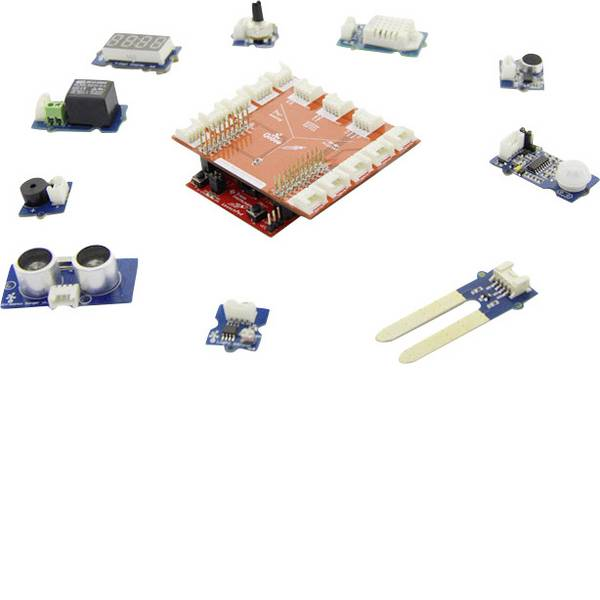Kit e schede microcontroller MCU - Starter-Kit Seeed Studio Grove Starter Kit for LaunchPad -