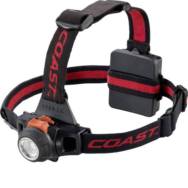 Lampade da testa - Coast HL27 LED Lampada frontale a batteria 330 lm 93 h 138683 -