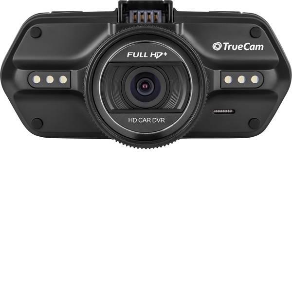 Dashcam - TrueCam A7s Dashcam con GPS Max. angolo di visuale orizzontale=130 ° 12 V, 24 V Display, Microfono, Batteria  -