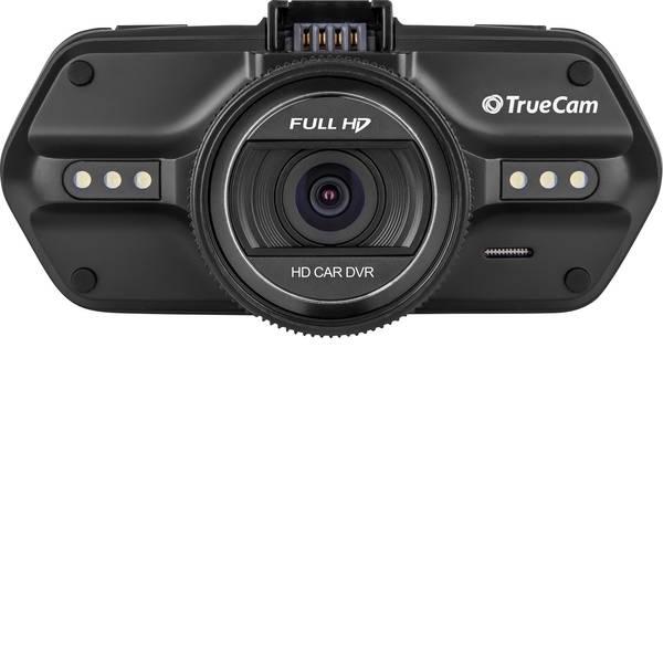 Dashcam - TrueCam A5s Dashcam con GPS Max. angolo di visuale orizzontale=130 ° 12 V, 24 V Microfono, Display, Batteria  -